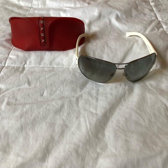 """Prada Accessories - RARE """"2004"""" Unisex Prada Sunglasses w/ case"""